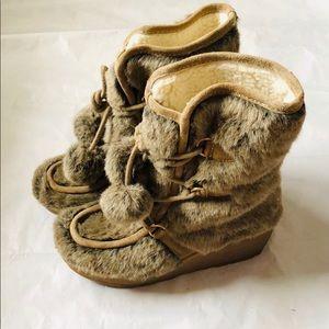 Juicy Couture Faux Fur Boots